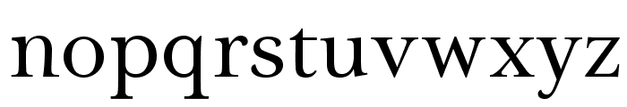 Tryst-Regular Font LOWERCASE