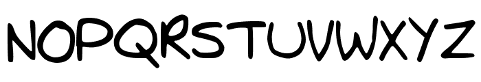 TrystansWritingCorrected Font UPPERCASE