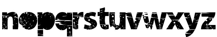 tramyad Semi-expanded Bold Font LOWERCASE