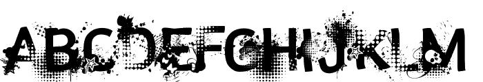 trashco Font LOWERCASE