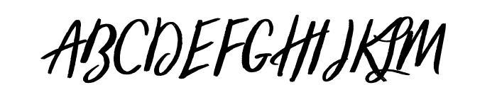 trendsetter-Regular Font UPPERCASE