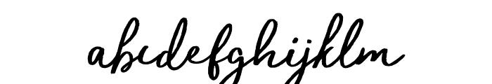 trendsetter-Regular Font LOWERCASE