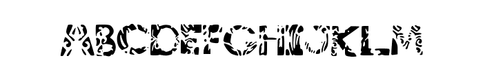 tribalistiktatwu Font LOWERCASE