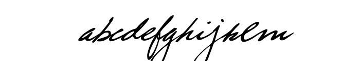 trueblue Font LOWERCASE