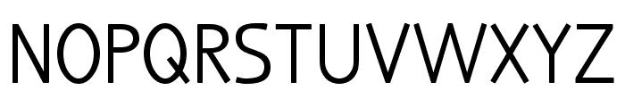 truebo Font UPPERCASE