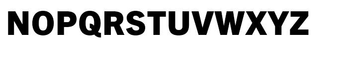 Trade Gothic Next Heavy Font UPPERCASE