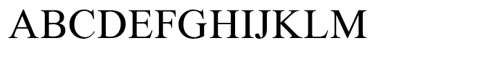 Traklin Regular Font UPPERCASE