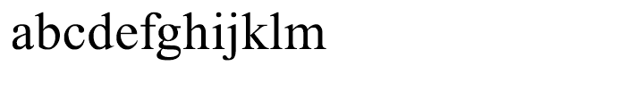 Traklin Regular Font LOWERCASE