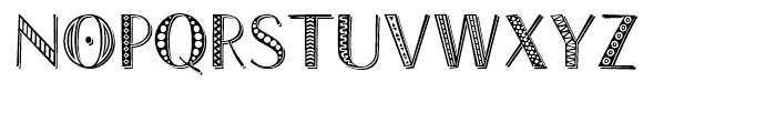 Trali-Vali Combined Font UPPERCASE