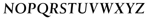 Tramuntana Pro Caption Pro Bold Italic Font UPPERCASE
