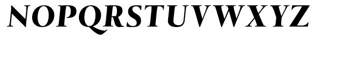 Tramuntana Pro Subhead Pro Heavy Italic Font UPPERCASE