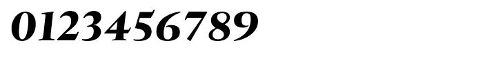 Tramuntana Pro Text Pro Heavy Italic Font OTHER CHARS