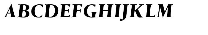 Tramuntana Pro Text Pro Heavy Italic Font UPPERCASE