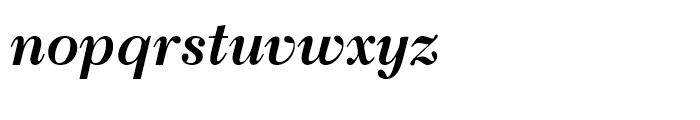 Transitional 511 Bold Italic Font LOWERCASE