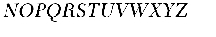 Transitional 511 Italic Font UPPERCASE