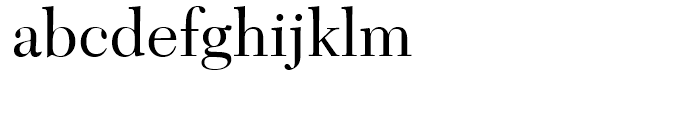 Transitional 511 Roman Font LOWERCASE