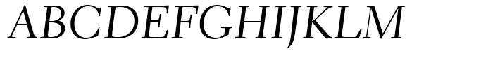 Transitional 521 Cursive Font UPPERCASE