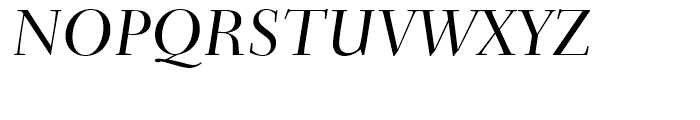 Transitional 551 Medium Italic Font UPPERCASE