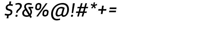 Trasandina Regular Italic Font OTHER CHARS