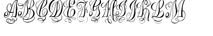 Treasury Silver Font UPPERCASE