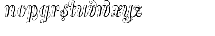 Treasury Silver Font LOWERCASE
