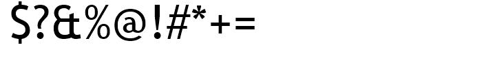 Trebuchet MS Regular Font OTHER CHARS