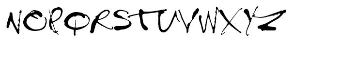 Treefrog Regular Font UPPERCASE