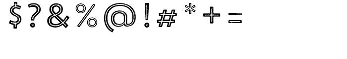 Trend Rough Sans Five Font OTHER CHARS