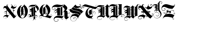 Triball Regular Font UPPERCASE