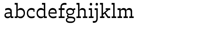 Trilby Regular Font LOWERCASE