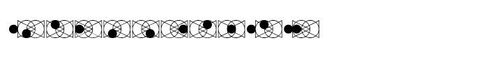 Triquetrus Regular Font OTHER CHARS