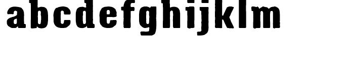 Triump Rough Rock 03 Font LOWERCASE