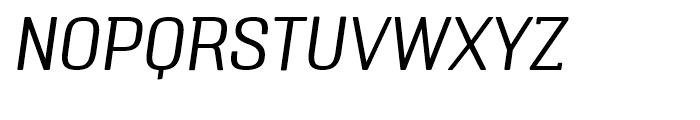 Triump Thin Italic Font UPPERCASE
