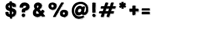 True North Dots Black Font OTHER CHARS