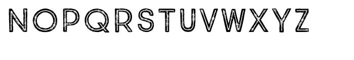True North Textures Inline Regular Font UPPERCASE