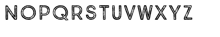 True North Textures Inline Regular Font LOWERCASE
