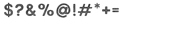 True North Textures Three Regular Font OTHER CHARS