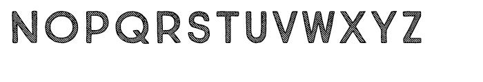 True North Textures Three Regular Font UPPERCASE