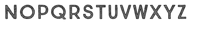 True North Textures Three Regular Font LOWERCASE