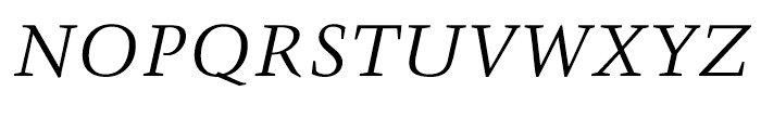 Trump Mediaeval Cyrillic Italic Font
