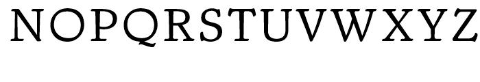 Trybuna Regular Font UPPERCASE