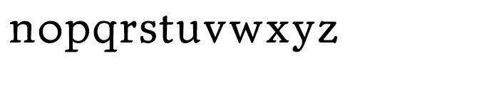 Trybuna Regular Font LOWERCASE