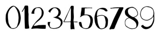 Trango Regular Font OTHER CHARS