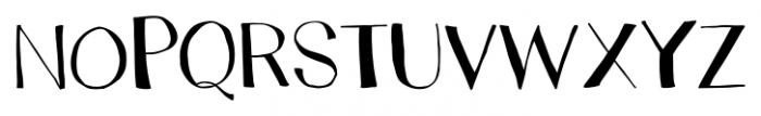 Trango Regular Font UPPERCASE