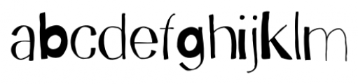 Trango Regular Font LOWERCASE