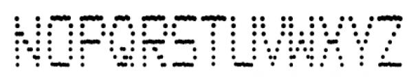 Transaction SRF Regular Font LOWERCASE