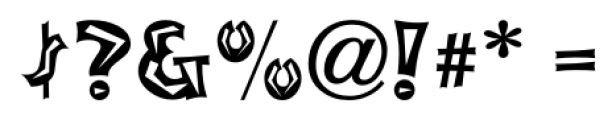 Tribal Council JNL Regular Font OTHER CHARS