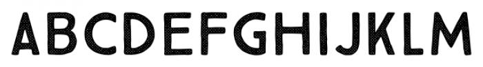 True North Textures Four Regular Font LOWERCASE