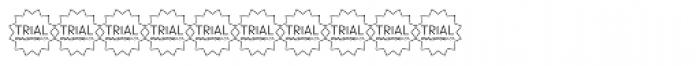TRIAL Sintesi Semi Bold Font OTHER CHARS