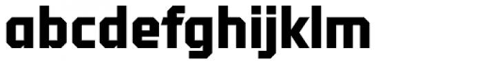 Tradesman Black Font LOWERCASE
